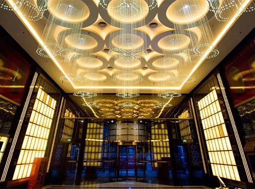 东方四季餐厅灯光设计