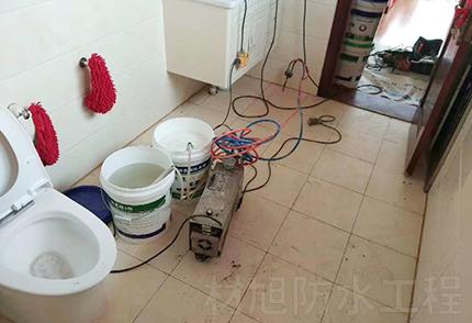 楼房卫生间防水补漏