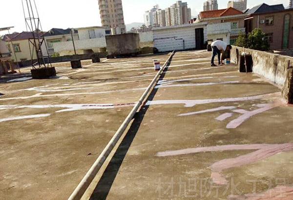 西山区老小区屋顶防水
