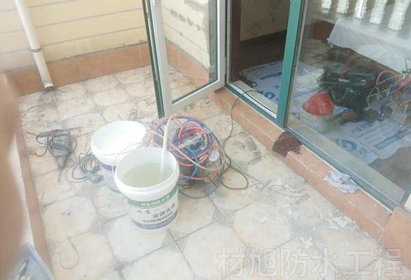 呈贡独立公寓阳台防水