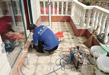 独立楼房阳台防水补漏