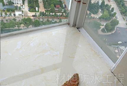 玻璃窗台防水补漏