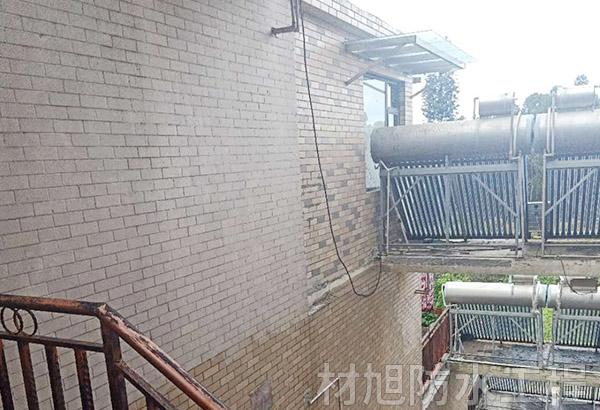 盘龙区小区楼外墙防水