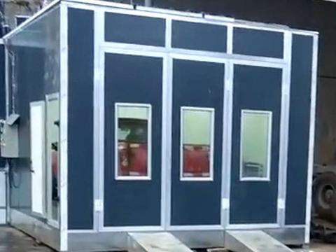 家具行业喷烤房