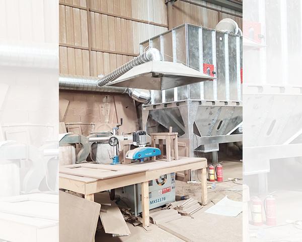 家具厂中央除尘装置