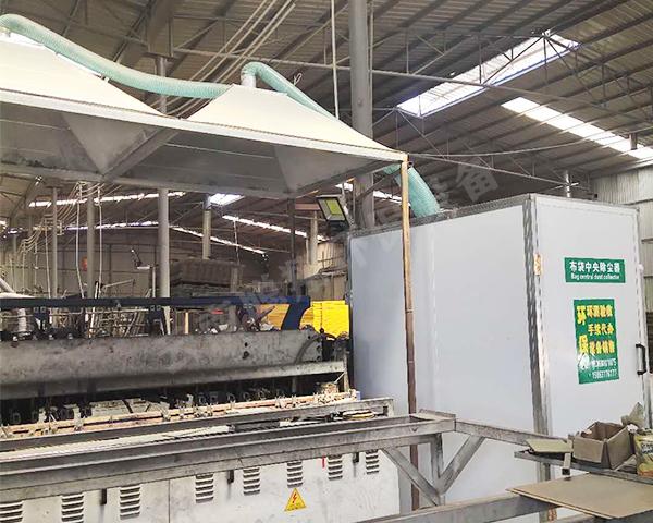 金属制品厂除尘设备