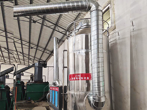 塑料造粒產生的廢氣可以用昆明廢氣處理設備解決嗎?