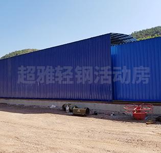 单层厂房钢构