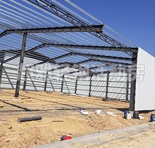 单层轻钢厂房搭建