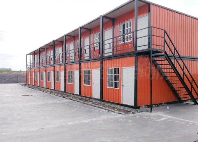 工地住人集装箱房