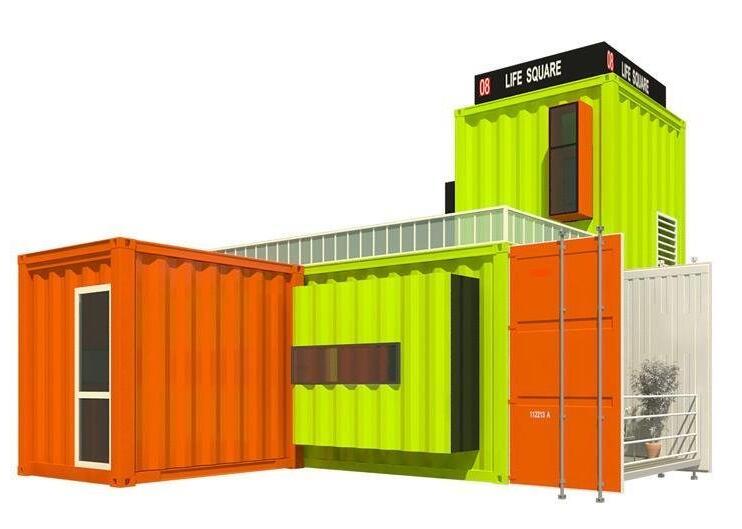 住人集裝箱活動房自己搭建靠譜嗎?