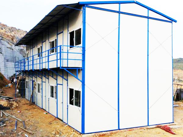 云南单双坡活动房安装