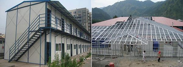 活动房和轻钢结构房的区别是什么?