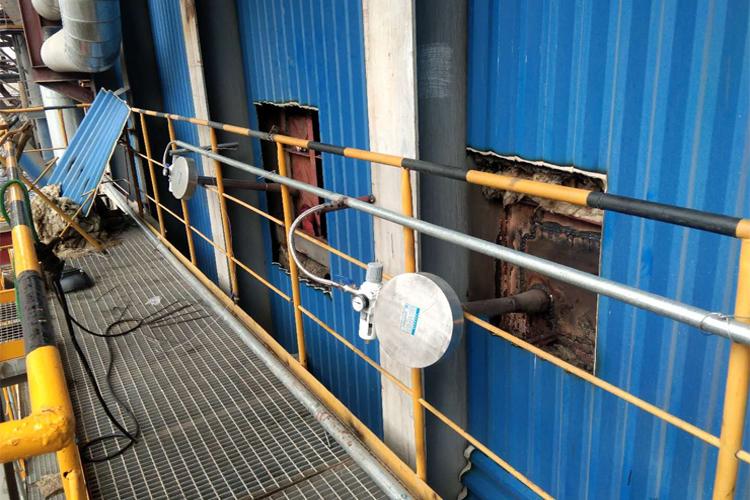 磁力声能清灰器安装案例