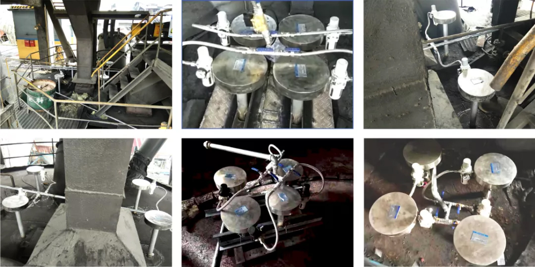 磁力声能清灰器在煤粉仓上的应用