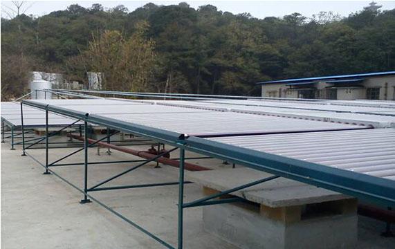太陽能熱水工程案例(幹部療養院)