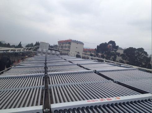 宿舍基地太陽能案例(雲南國防訓練)