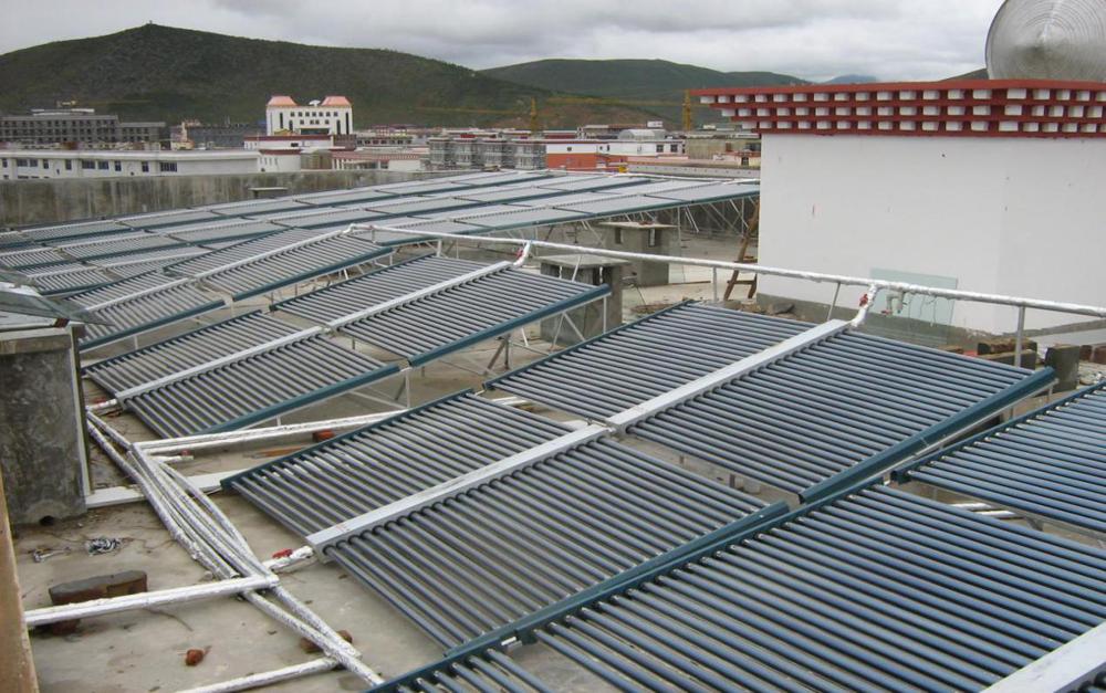 廣州金輪住宿辦公一體化綜合樓太陽能安裝案例
