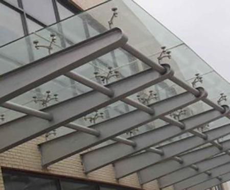 雨棚玻璃04