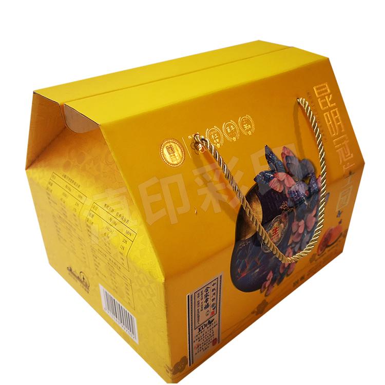 月饼屋顶纸箱包装
