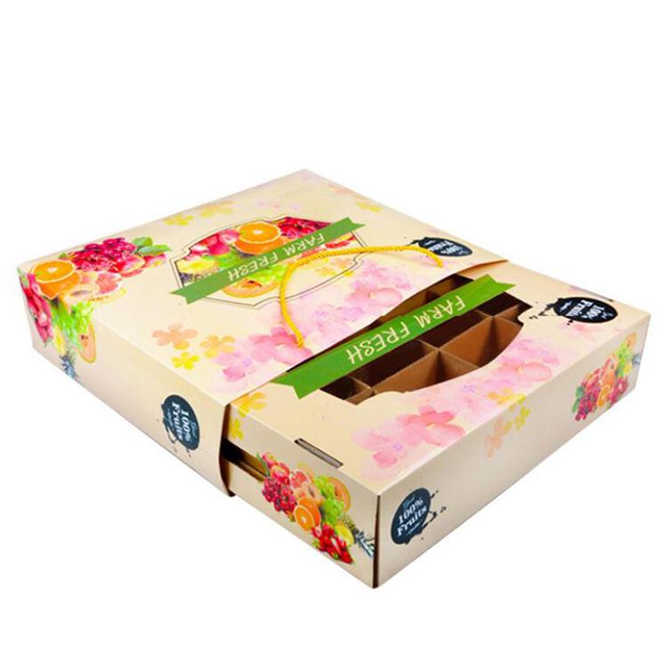 水果手提袋+纸箱包装