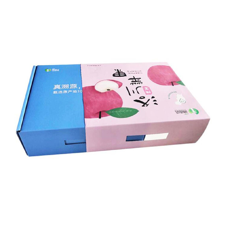 云南苹果飞机盒纸箱包装