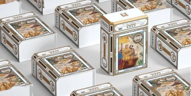 西湖龙井茶叶包装盒