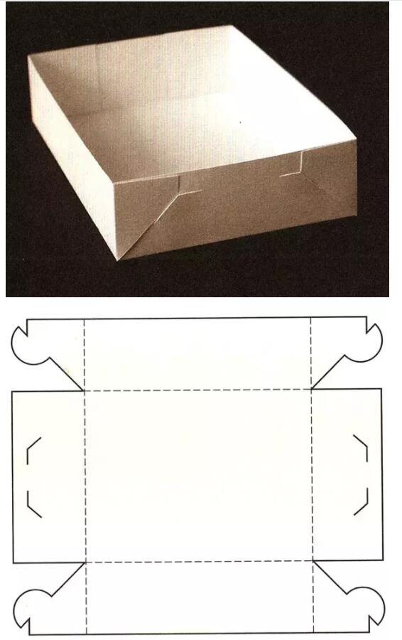 锁合组装结构展开图