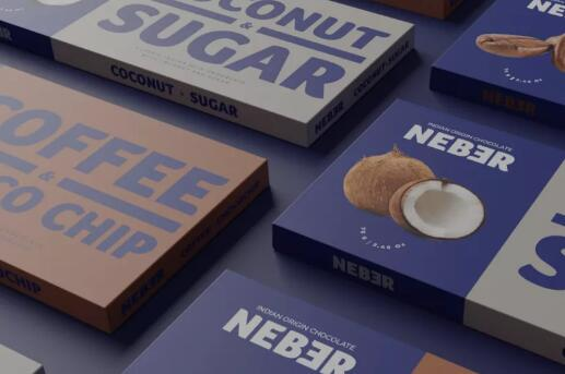 简约风系列电商糖果巧克力包装设计