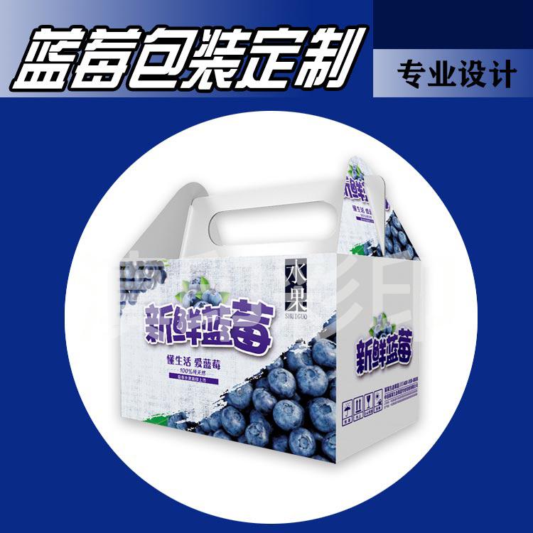 蓝莓包装定制