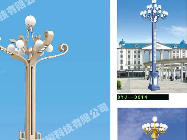 中杆灯和高杆灯的区别,你知道吗?