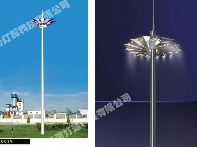为什么现在高杆灯都是采用带升降?