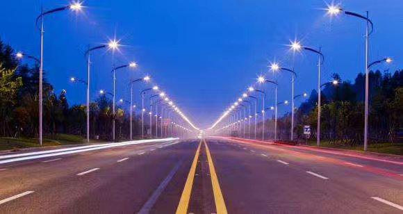 呈贡新区路灯