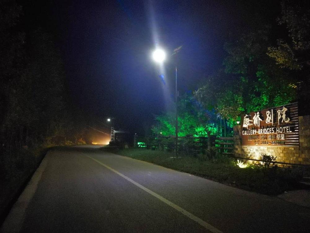 泸沽湖景区路灯