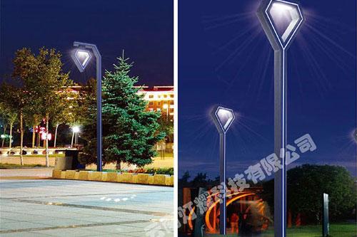 太阳能路灯部的应急灯的电器和光源改为100W有什么用