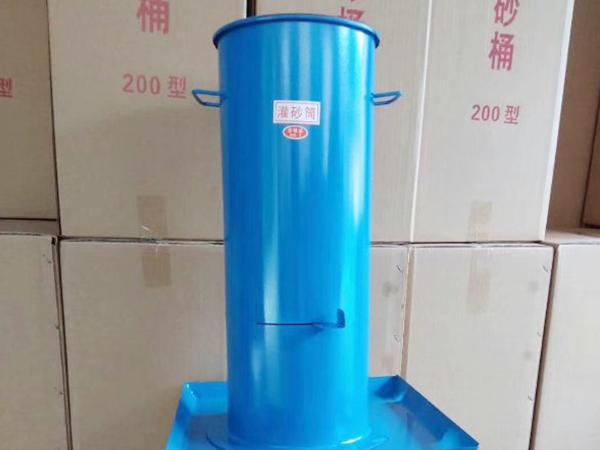 混凝土检测设备:灌砂筒在云南宣威的运用