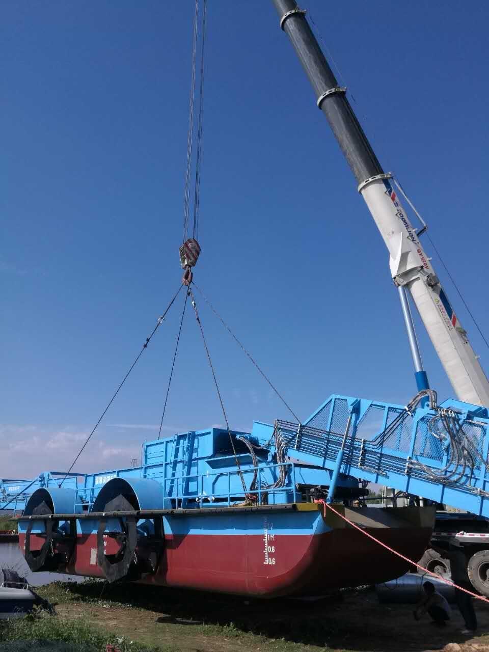 110吨云南省安宁市船舶吊装下水