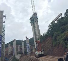 75吨曲靖市宣曲高速公路施工