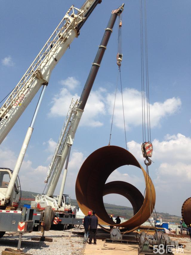 吊车货物吊装