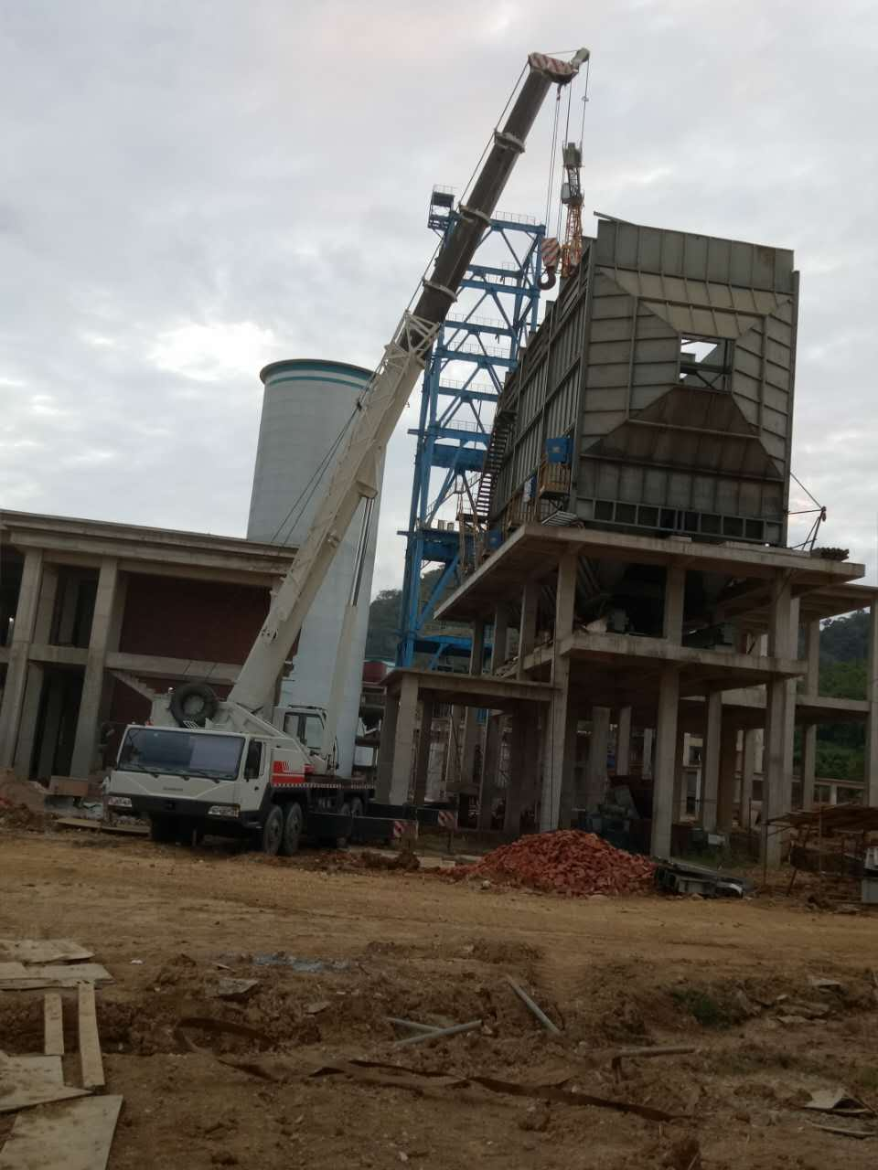 70T老挝乌都勐塞水泥厂