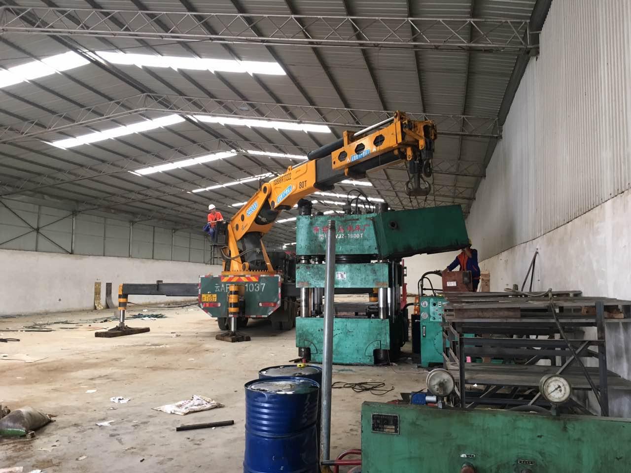 大型设备搬运过程中需采取的必要安全措施