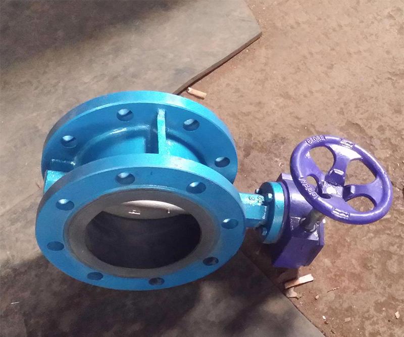 D341X蜗轮传动法兰式蝶阀