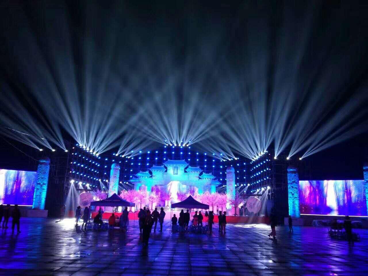 昆明活动舞台搭建关于对舞台灯光设计中光色运用的