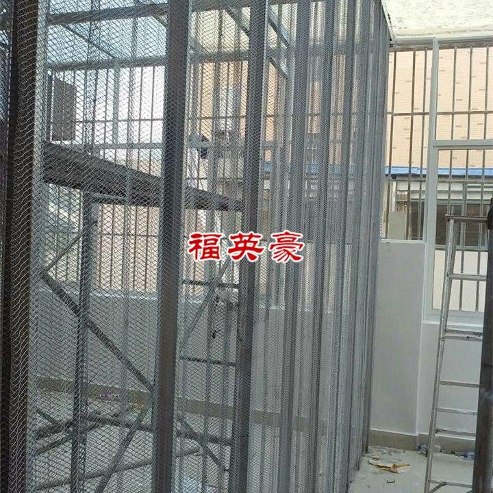 昆明轻型钢网隔墙-福英豪中空钢网内模隔墙