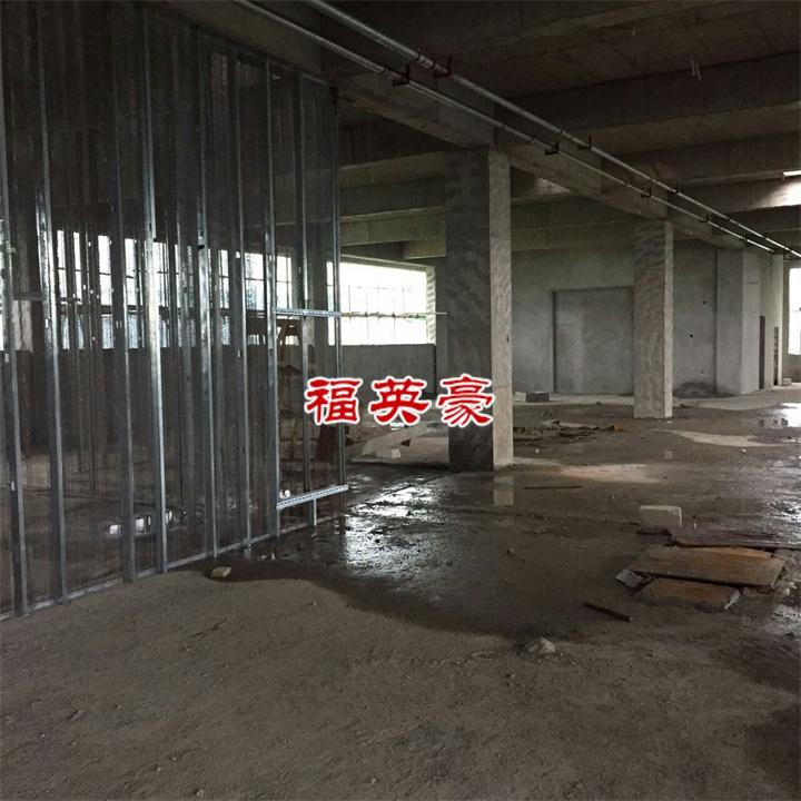 云南酒店專用新型隔墻-中空鋼網