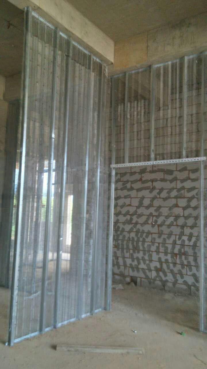 昆明中空钢网隔墙厂家的中空钢网隔墙的施工难点