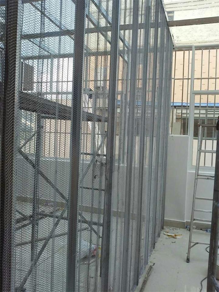 昆明中空钢网隔墙公司