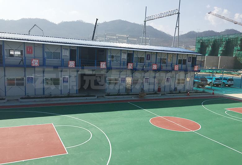 中国南方电网鲁西工程活动房搭建