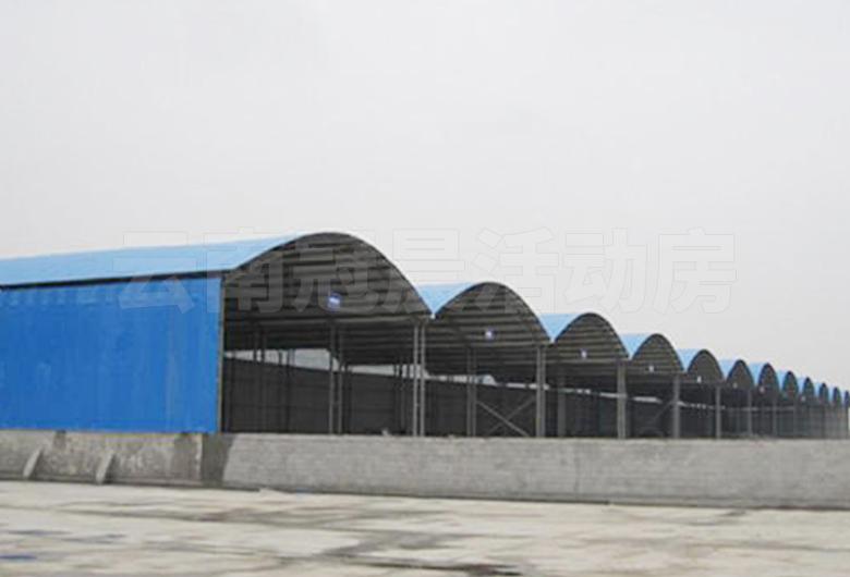 文马高速T1钢筋加工场