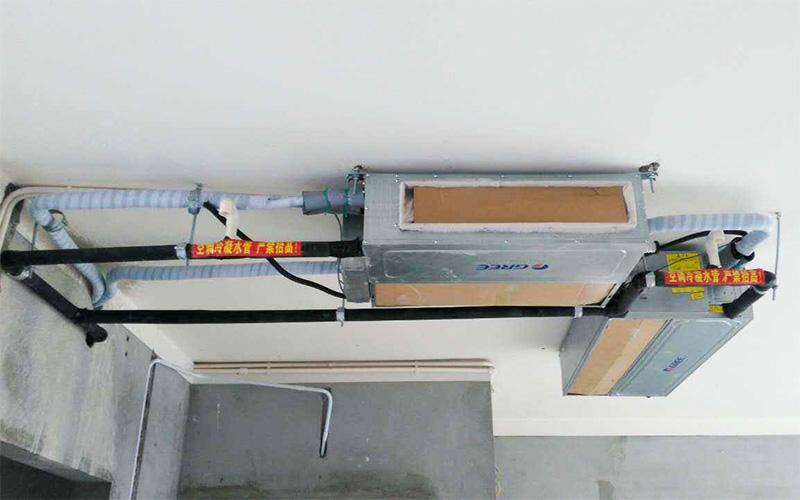 格力家用中央空调室内机安装